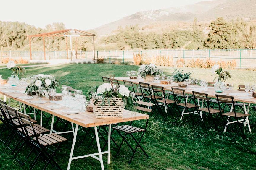 Elija cuidadosamente el lugar de la boda al aire libre